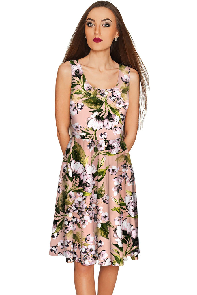 Ooh Darling Mia Fit & Flare Floral Cocktail Dress - Women - Pineapple Clothing