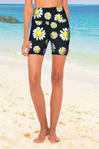 Oopsy Daisy Karen Floral Performance Yoga Biker Shorts - Women