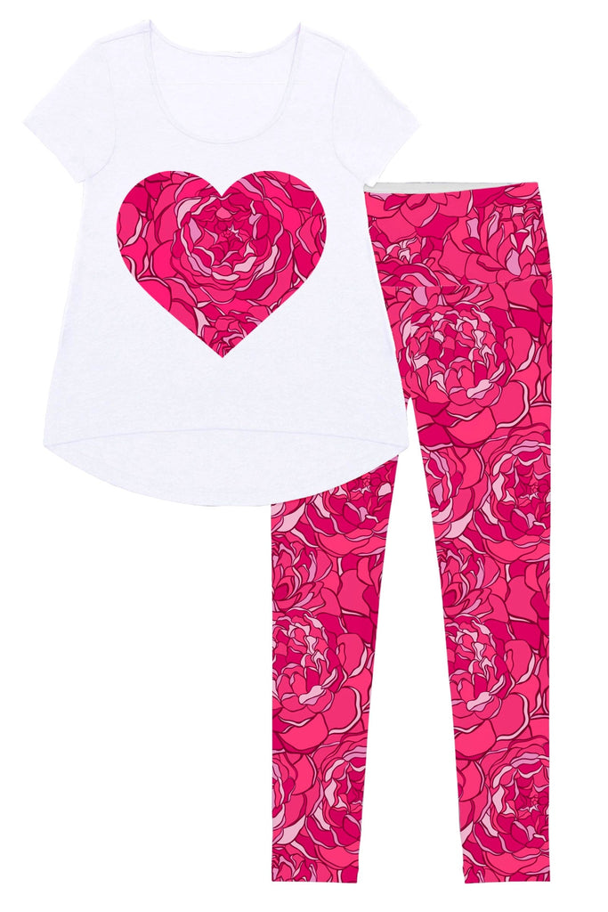 Peony Blaze Mary Set - Women - Pineapple Clothing