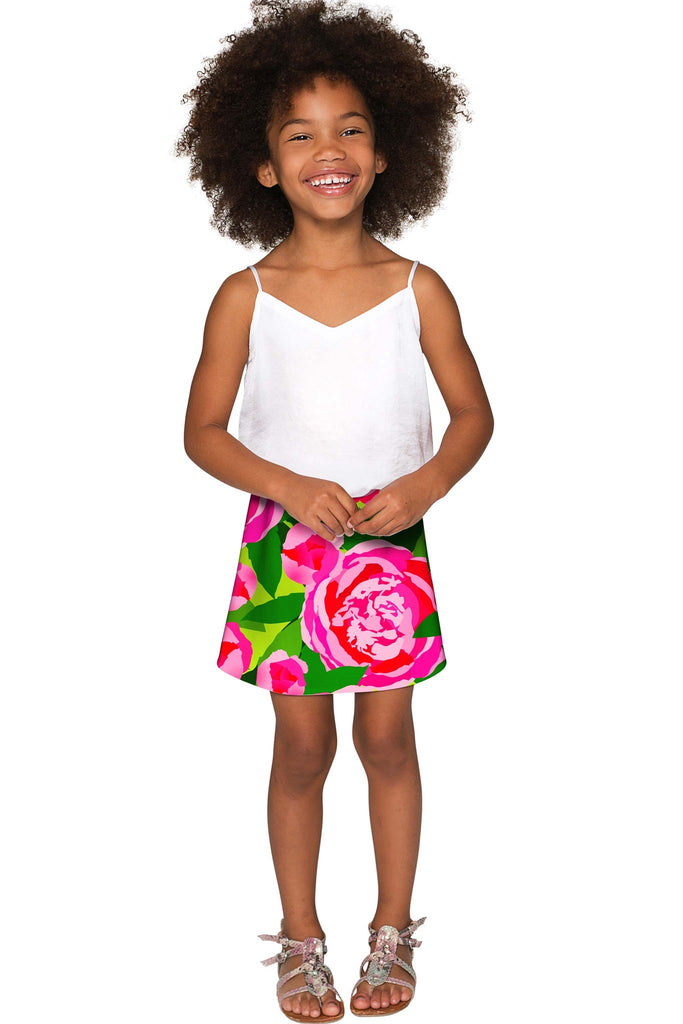 Pink Vibes Aria A-Line Skirt - Girls - Pineapple Clothing