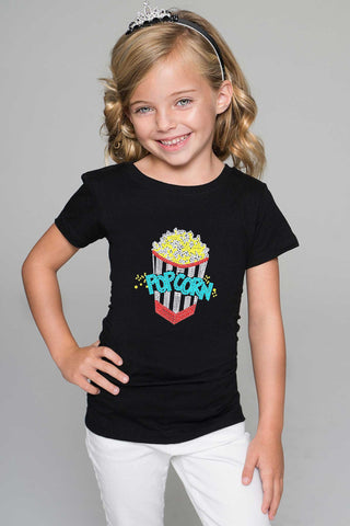Popcorn Tee - Girls - Pineapple Clothing