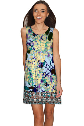 Pure Tenderness Sanibel Empire Pretty Day Dress - Women - Pineapple Clothing