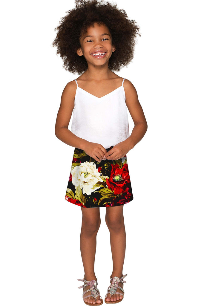 Put Your Crown On Aria A-Line Skirt - Girls - Pineapple Clothing