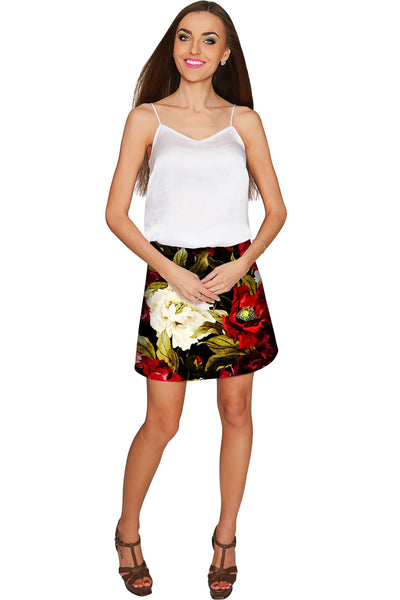 Put Your Crown On Aria A-Line Skirt - Women