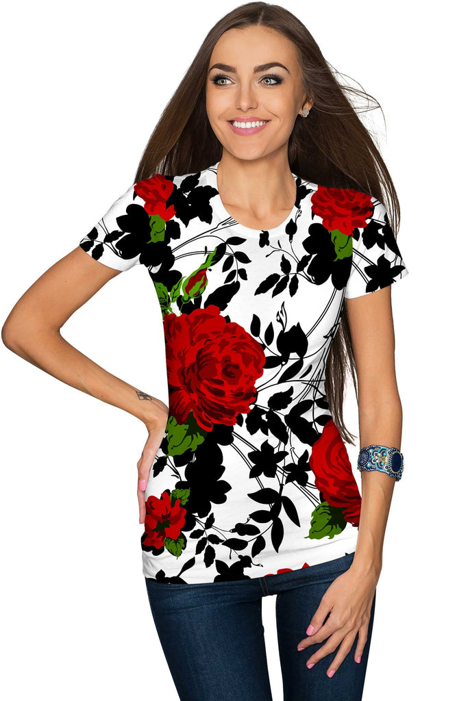Styles under 80 pineapple clothing for Black white red t shirt