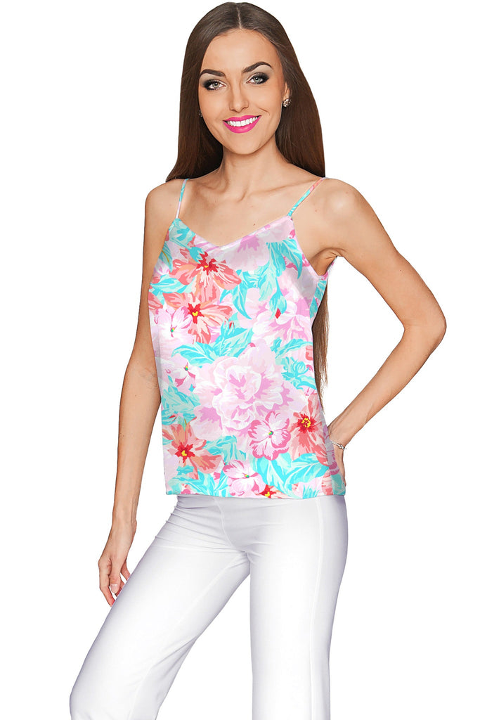 Spring Garden Ella V-Neck Camisole - Women - Pineapple Clothing