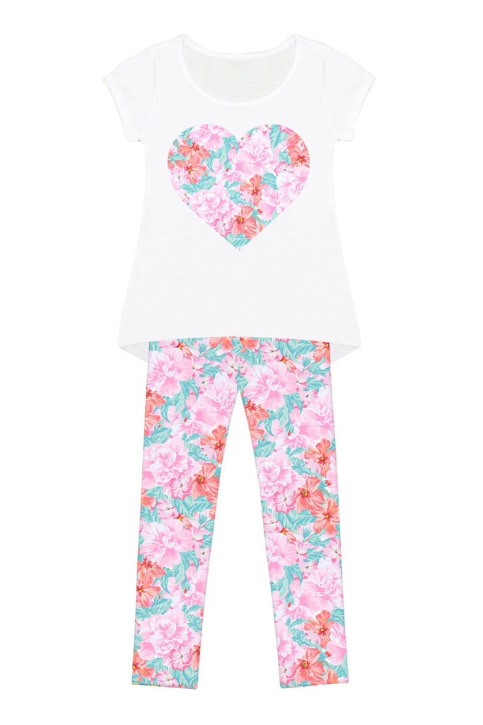 Spring Garden Mary Set - Girls - Pineapple Clothing