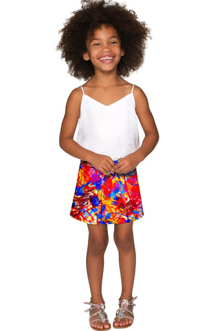 Summer Dizziness Aria A-Line Skirt - Girls - Pineapple Clothing