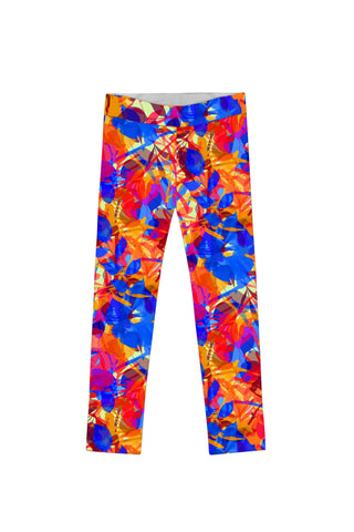 Summer Dizziness Lucy Cute Bright Printed Leggings - Girls - Pineapple Clothing