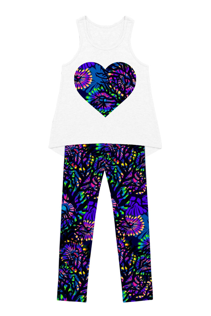 Summer Midnight Glow Donna Set - Girls - Pineapple Clothing