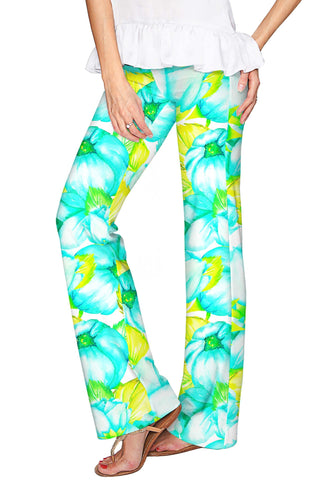 Sunny Day Amelia Summer Pull-On Palazzo Pant - Women - Pineapple Clothing