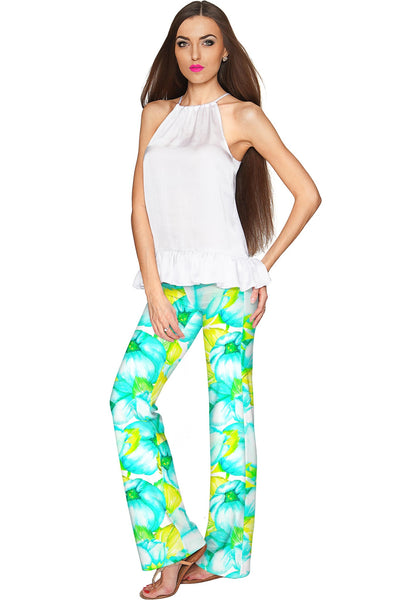 Sunny Day Amelia Summer Pull-On Palazzo Pant - Women