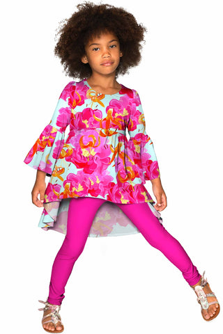 Sweet Illusion Ava Boho Tunic - Girls - Pineapple Clothing