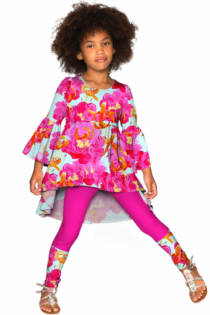 Sweet Illusion Janet Boho Set - Girls - Pineapple Clothing