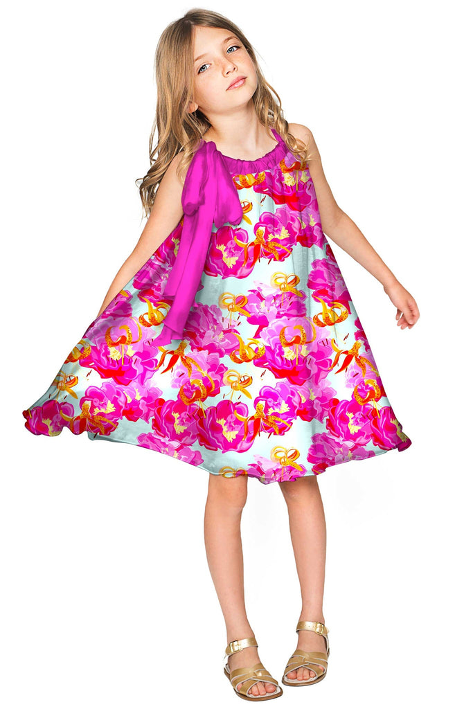 Sweet Illusion Melody Pink Chiffon Party Dress - Girls – Pineapple ...