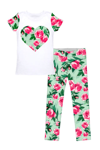 Sweetheart Betty Set - Girls - Pineapple Clothing