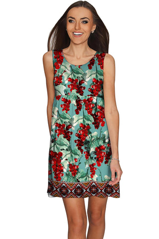 Toscana Sanibel Green Fit & Flare Empire Dress - Women - Pineapple Clothing
