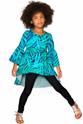 Tropical Dream Ava Boho Tunic - Girls - Pineapple Clothing