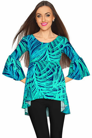 Tropical Dream Ava Boho Tunic - Women - Pineapple Clothing