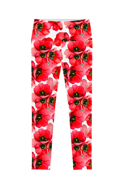Tulip Salsa Lucy Floral Print Performance Leggings - Women - Pineapple Clothing