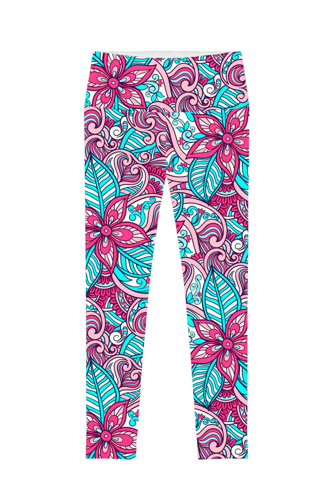 Under The Sea Lucy Printed Performance Leggings - Women - Pineapple Clothing