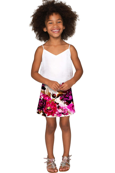 Vintage Charm Aria A-Line Skirt - Girls