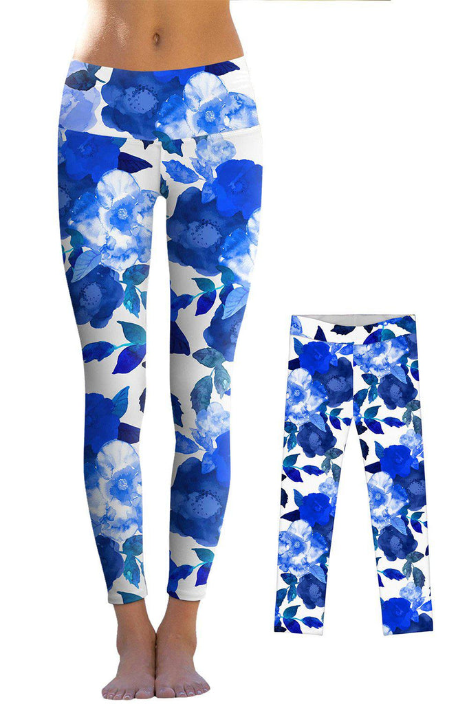 Blue Blood Lucy Leggings - Mommy and Me - Pineapple Clothing