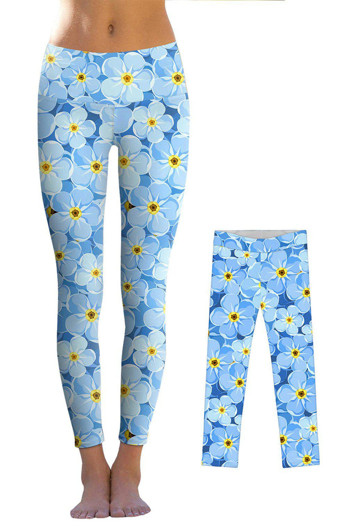 Forget-Me-Not Lucy Leggings - Mommy and Me - Pineapple Clothing