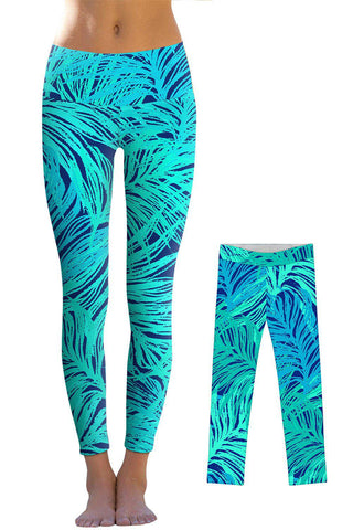Tropical Dream Lucy Leggings - Mommy and Me - Pineapple Clothing