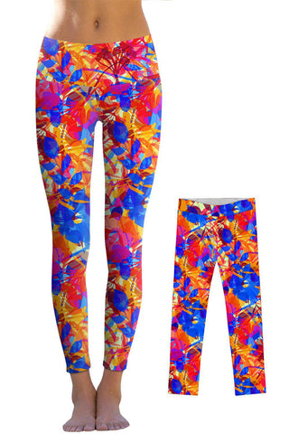 Summer Dizziness Lucy Leggings - Mommy and Me - Pineapple Clothing