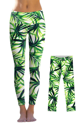 Island Life Lucy Leggings - Mommy and Me - Pineapple Clothing