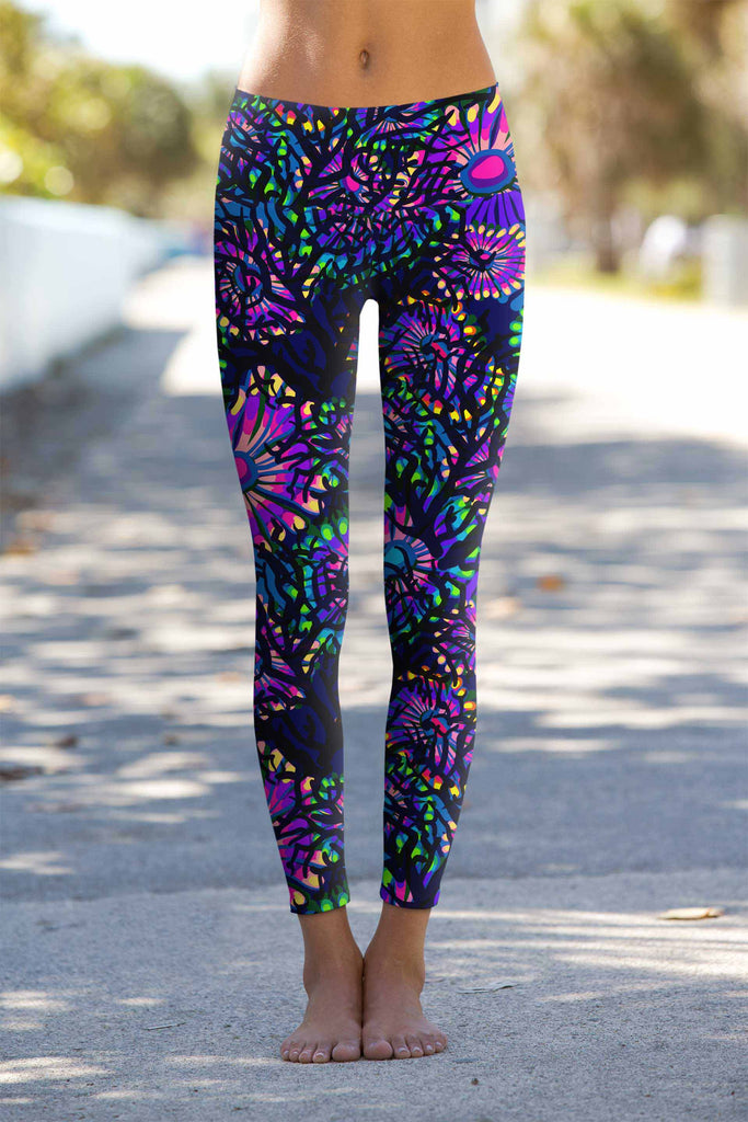 Midnight Glow Lucy Leggings - Mommy and Me - Pineapple Clothing
