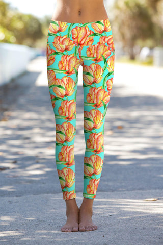 Impulse Lucy Floral Performance Yoga Leggings - Women