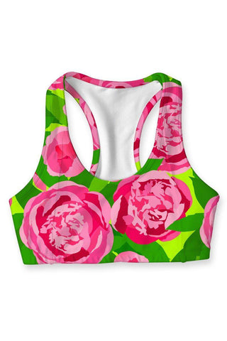 Pink Vibes Stella Seamless Racerback Sport Yoga Bra - Women - Pineapple Clothing