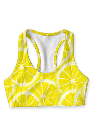 A Piece of Sun Stella Seamless Racerback Sport Yoga Bra - Women - Pineapple Clothing