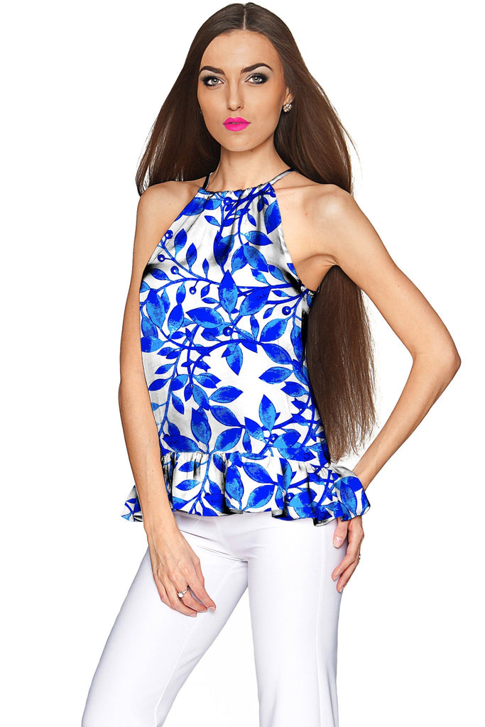 Whimsy Audrey Halter Stretchy Top - Women - Pineapple Clothing