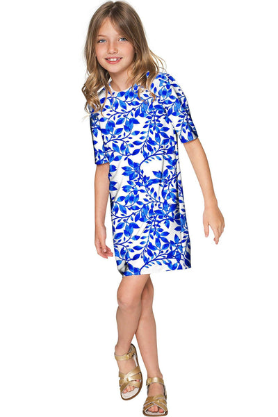 Whimsy Grace Shift Floral Mother Daughter Dress