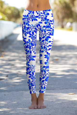 Whimsy Lucy Printed Performance Leggings - Women - Pineapple Clothing