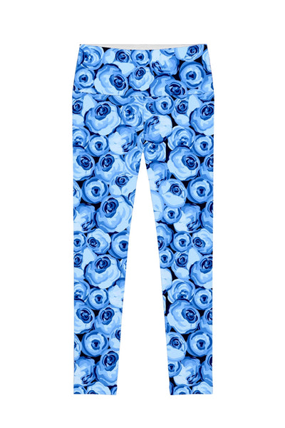 Whisper Lucy Floral Printed Performance Leggings - Women