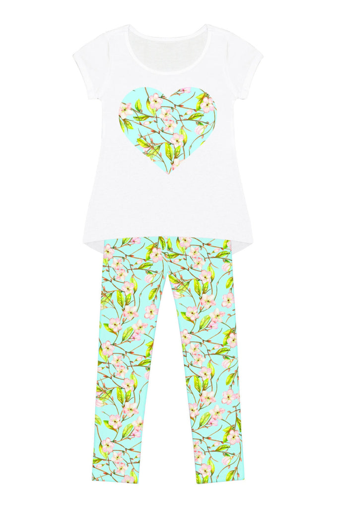 White Muse Mary Set - Girls - Pineapple Clothing