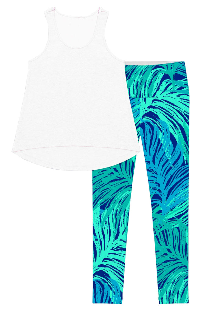 White Tropical Dream Donna Set - Women - Pineapple Clothing