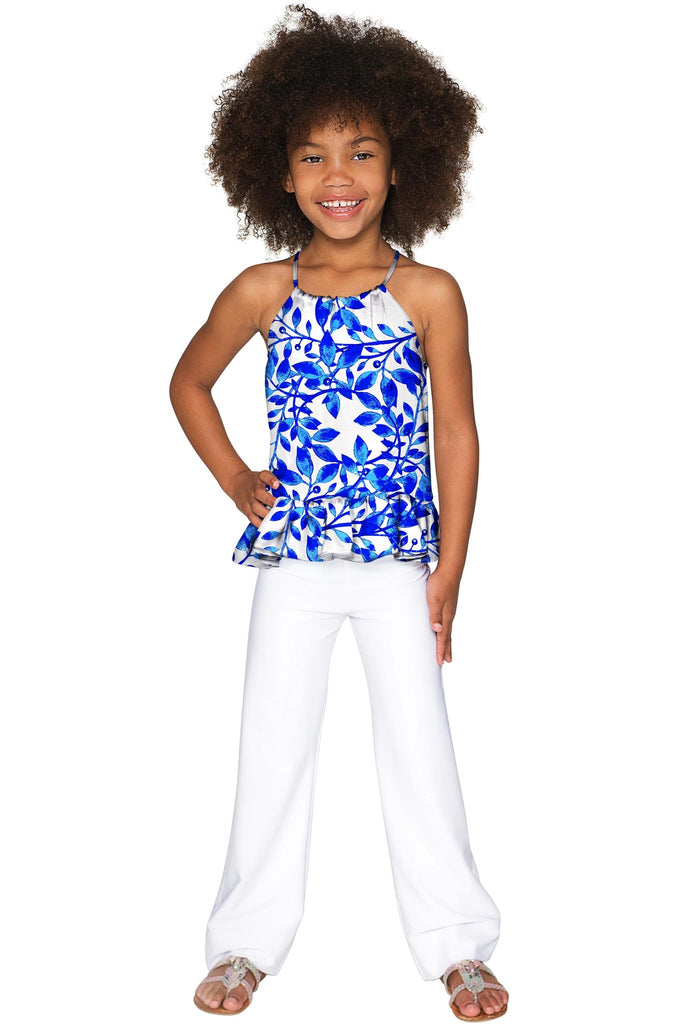 White Whimsy Angela Chic Set - Girls - Pineapple Clothing