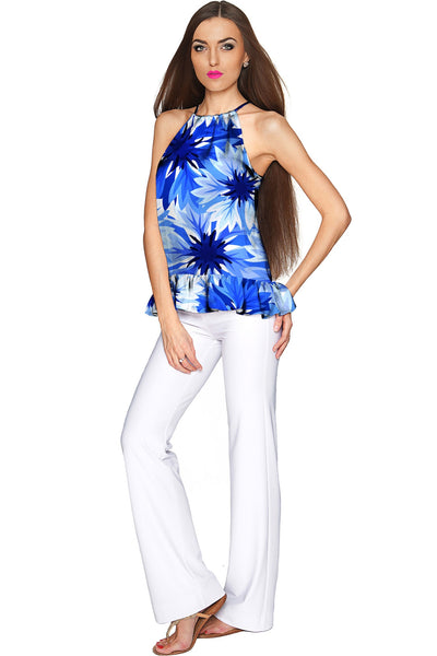Wild Bloom Audrey Halter Top - Women