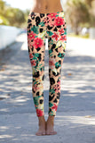 Wild & Free Lucy Leopard Print Performance Legging - Women - Pineapple Clothing