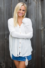 Cool Summer Nights Top - Ivory