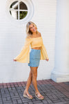 Hippie Daze Top- Yellow