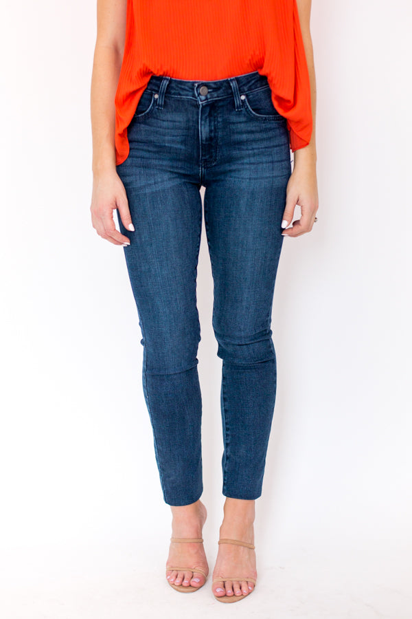 Walk This Way Jeans - Dark Denim