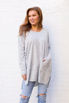 Back To Basics Sweater - Grey