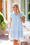 The Penelope Dress - Light Blue