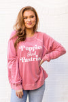 Wildfox Puppies & Pastries Sommers Sweater - French Rose